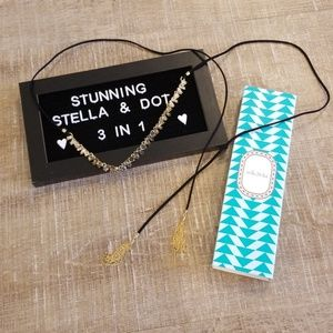 Stella & Dot Jewelry - Eliza Fringe Necklace